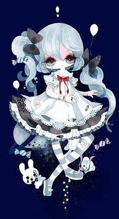 Gloomy the dolly - Anime Manga Anime, Anime Chibi, Anime Art, Up Animation, Animation Sketches, Manga Drawing, Manga Art, Art Kawaii, Postcard Art