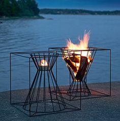 skargaarden outdoor fire