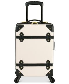 """Diane von Furstenberg Adieu 18"""" Carry On Hardside Spinner Suitcase - Upright Luggage - luggage & backpacks - Macy's"""
