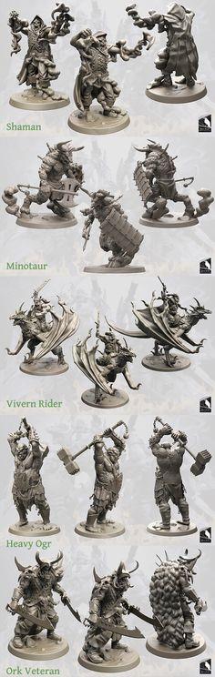 Horde Invasion - fantasy multi-part miniatures | Indiegogo