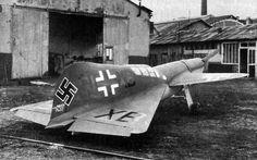 Unknown experimental German aircraft. WW2