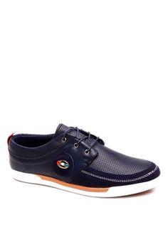Wild CAMEL 421  Σκούρο Μπλε Spor Ανδρικό Παπούτσια
