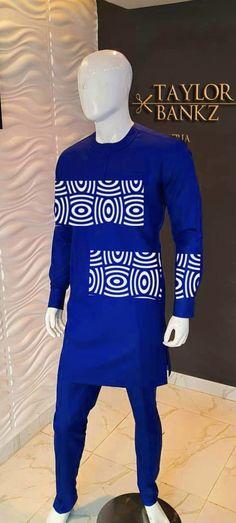 African men's clothing / African fashion/ wedding suit/dashiki / African men's shirt/ vêtement africain/ chemise et pantalon African Wear Styles For Men, African Shirts For Men, African Dresses Men, Ankara Styles For Men, African Attire For Men, African Clothing For Men, African Style, Nigerian Men Fashion, African Men Fashion