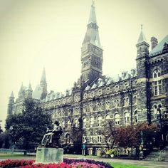 Georgetown University, Washington, DC. Other dream college