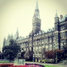 Georgetown University, Washington, DC. Other dream college