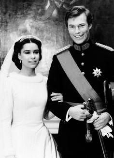 Royal Families♥Wedding of Grand Duke Jean and Grand Duchess Marie-Teresa