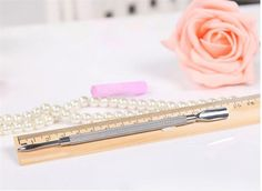 Nail Art Tools Manicure Pedicure Sets Stainless Steel Cuticle Clipper Pusher ONE #JCT