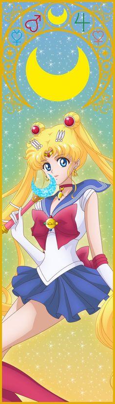 Sailor Mercury Bookmark Colo by BlackCitty on DeviantArt