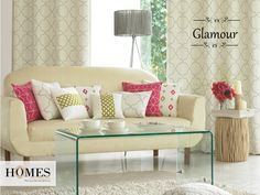 Add an expression of Simplicity and make your #LivingRoom stand class apart with #Homes #Furnishings. Explore more @ www.homesfurnishings.com #Cushions #HomeDecor #HomeFabrics #HomesFurnishings #Curtains #Upholstery