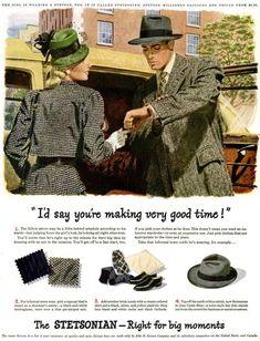 Vintage Stetson Ads | Mister Crew