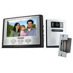 """Defender GK300-7M2 Hands Free 2-Wire Color Video Intercom System with 7"""" LCD Monitor and Night Vision Security Camera & Bonus Electric Door Strike Remote Unlock Mechanism by Defender. $219.99. Fast & Hassle-Free Setup It can work with your existing door bell wiring, so you can do everything yourself within minutes (50ft cable included). The video, audio and power all run through two wires, so no additional or complicated wiring is necessary.  See and Hear Everything with Video &..."""
