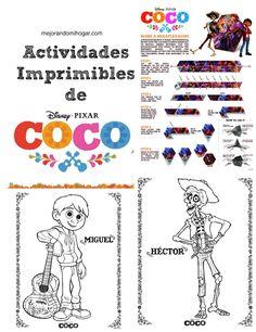 Imprimibles de COCO y rueda de prensa con los creadores de la película #PixarCocoevent