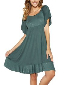 1a197aefe6 Hunter Shimmer Nightgown - Plus Too  zulilyfinds
