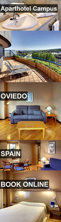 Hotel Aparthotel Campus in Oviedo, Spain. For more information, photos, reviews and best prices please follow the link. #Spain #Oviedo #AparthotelCampus #hotel #travel #vacation