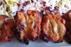 easy Persian chicken kebabs in yogurt marinade