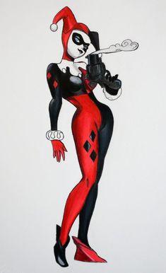Harley Quinn | Blue Crayon