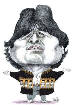 Evo Morales - Pancho Cajas