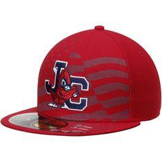 Johnson City Cardinals New Era Stars   Stripes Authentic Collection Diamond  Era NE Tech Hat - Red 302f6b4f0f2