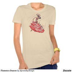 Flamenco Dancer Tee Shirt