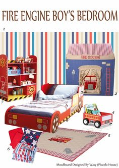 Fire Engine Playhouse 3 Bed 4