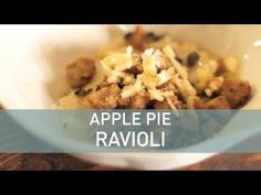 Apple Pie Ravioli - Food Deconstructed