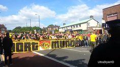 Corteo e coro ultras Borussia Dortmund a Londra 25/05/2013