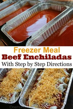 With all my Zaycon chicken to use up, I was finding myself in a chicken rut. I needed some red meat in my life! These beef enchiladas were the perfect solution. I make them almost the exact same way I make my chicken enchiladas, which means they are just as easy and just as delicious. …