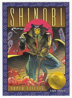 X-Men Series 2 - Shinobi # 75 Skybox 1993