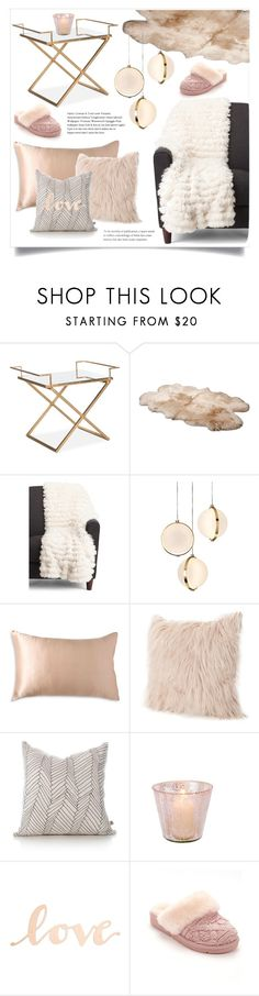"""""""Cozy Home"""" by gracecar3 ❤ liked on Polyvore featuring interior, interiors, interior design, home, home decor, interior decorating, UGG, Baroncelli, Donna Karan and Primitives By Kathy"""