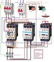 Esquemas eléctricos: ESTRELLA TRIANGULO POTENCIA Y MANIOBRA