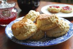 Scones-For-a-Glaswegian-Lady These scones melt in your mouth, served warm with butter and homemade jam. Get the recipe and tips for how to make this Scottish specialty www.redbookrecipes.com