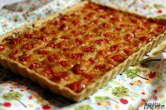 Torta de Mostarda, Queijo e Tomate - Torta Salgada Francesa - Amélia com Vaidade 3