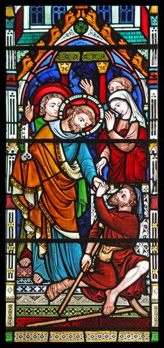 """St Peter healing the lame"" by Lawrence OP on Flickr - St. Peter Healing The Lame"