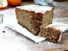 Gâteau aux clémentines à la farine de châtaigne