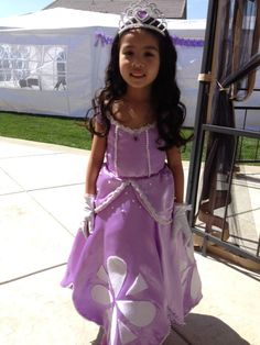 Custom Sofia the First Inspired Princess Costume by 4AngelsStudio, $150.00