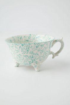 Attingham Tea Cup #anthropologie