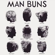 "15.1k Likes, 2,260 Comments - @meltcosmetics on Instagram: ""#manbuns?.. Or nah? @manbunmonday """