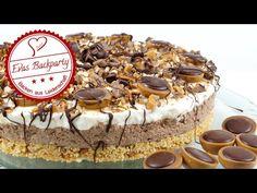 Toffifee-Torte selber machen - Rezept ohne Backen