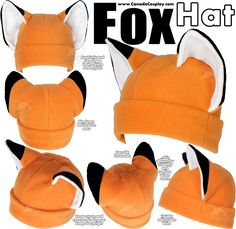 Fox Hat by calgarycosplay on DeviantArt