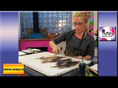 Aprende a reciclar un bastidor y a pintar un cuadro abstracto - YouTube Painting Videos, Learn To Paint, Color Inspiration, Art Lessons, Youtube, Learning, Drawings, Frames, Abstract Painting Techniques