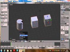 Blender-   Ordem de seleção, Medium point, individual origem, Extrusão individual, Cursor 3D, Mover ponto pivot