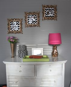 Love, Life, Lace Home Office Makeover | The Office Stylist