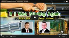 """""""Infrastructure Management Discussion – If I Were Starting Again"""" webinar video uploaded for your asset management learning and reference. Change Management, Asset Management, Traffic Congestion, Focus On What Matters, Understanding Yourself, September 2014, Learning, Youtube, Study"""