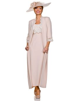 Outfits with a coat for Mother of the Bride/ Groom - Pink Mother of the Bride/ Groom Outfit - Special Occasion Wear - Collection A - Joyce Young By Storm Mother Of The Bride Inspiration, Mother Of Groom Outfits, Joyce Young, Derby Attire, Mom Dress, Pink Dress, Frack, Special Occasion Dresses, Occasion Wear