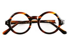 40mm - 61mm HANDMADE Vintage Round Glasses Tortoise Optical Eyeglasses Frames Rx #Purplemelody