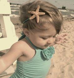 Sparkly Starfish Headband :)
