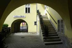 Blick zur St.Anna Mühle Anna, Stairs, Home Decor, Bathing, Stairway, Staircases, Interior Design, Ladders, Home Interior Design