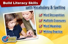 Spellingcity.com transforms any word list into a fun activity.  It is a web-based resource that can be used with any curriculum. It allows you to use any existing word list on the site or create a custom word list.  There is an app and a progress monitoring tool.