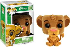 DISNEY THE LION KING – SIMBA FLOCKED FUNKO POP! VINYL FIGURE