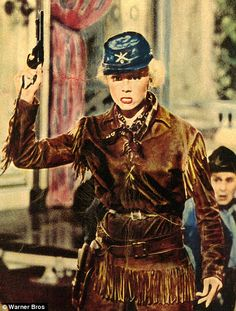 Calamity Jane! Love that movie. Whether you watch the one with Betty Hutton or Doris Day you will be entertained with great musci